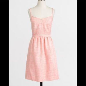 J.Crew Pink Tweed Cami Dress with Pockets 4